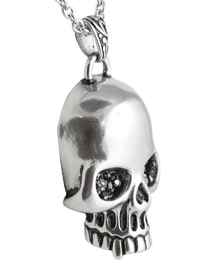 """Glimmer In Your Eyes"" Necklace by Controse (Silver) - www.inkedshop.com"