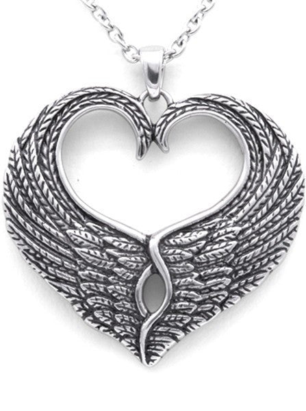 """Love Wings"" Necklace by Controse - www.inkedshop.com"