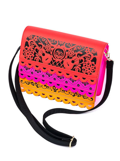 Pixar: Coco Party Flags Crossbody Bag by Loungefly