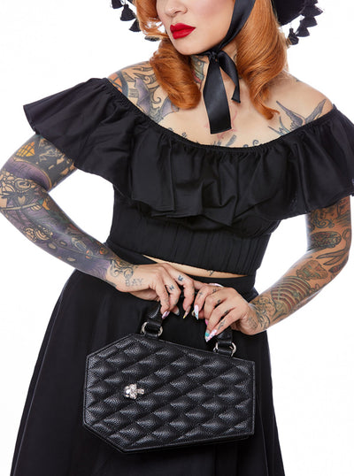 """Elvira Coffin"" Mini Tote by Lux de Ville (More Options)"