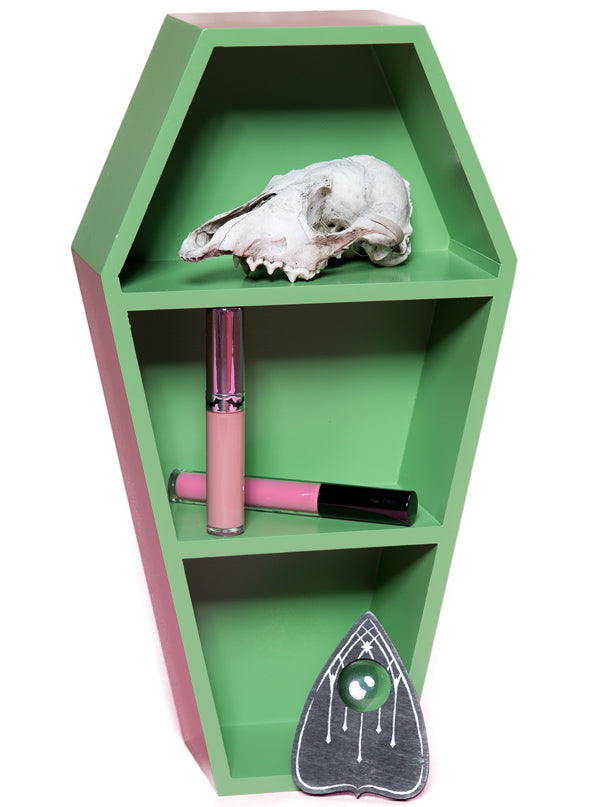 """Coffin"" Shelf by Sourpuss (More Options)"