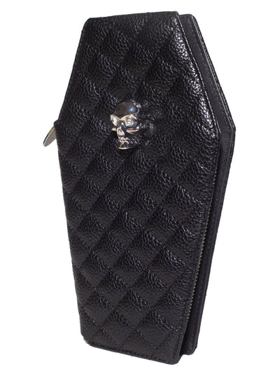 """Elvira"" Coffin Wallet Clutch by Lux de Ville (More Options)"