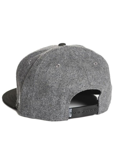 """Coilworks""Snapback Hat by Sullen (Heather Grey)"