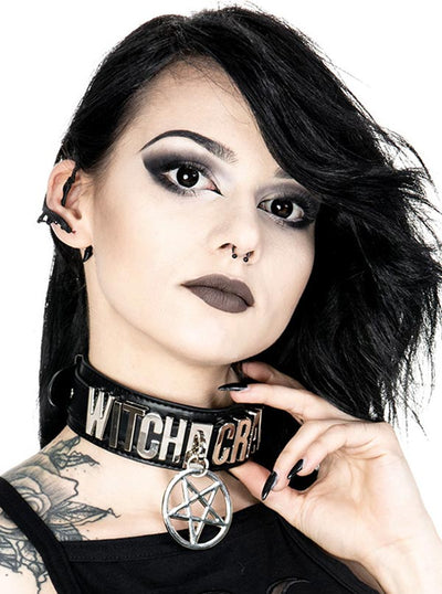 Witch Craft Collar Choker by Restyle