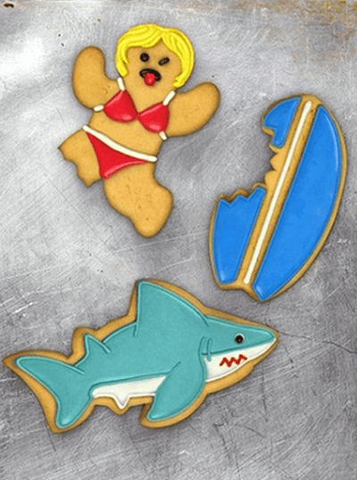 """Snack Attack"" Cookie Cutters by Fred & Friends - www.inkedshop.com"