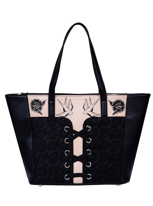 Corset Shoulder Bag by Jawbreaker