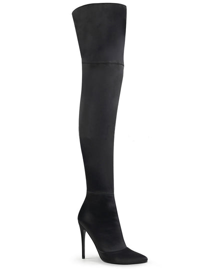 "Women's ""Courtly 3012"" Thigh High Boots by Pleaser (More Options)"