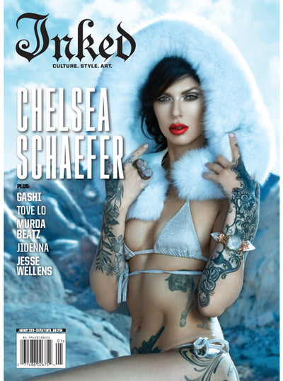 Inked Magazine: The Holiday Issue (2 Cover Options) - January 2020