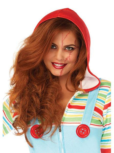 "Women's ""Cozy Killer Doll"" Costume by Leg Avenue (Multi)"