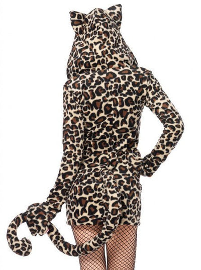 "Women's ""Cozy Leopard"" Costume by Leg Avenue (Brown) - www.inkedshop.com"