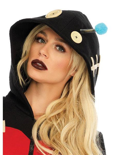 Women's Cozy VooDoo Doll Costume by Leg Avenue