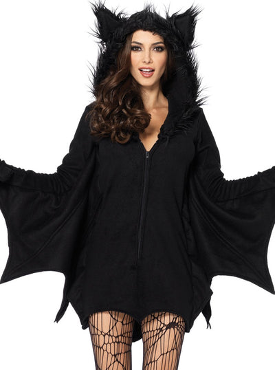 Women's Cozy Bat Costume by Leg Avenue