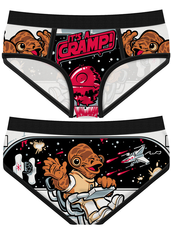 Women's It's a Cramp! Period Panties by Harebrained!