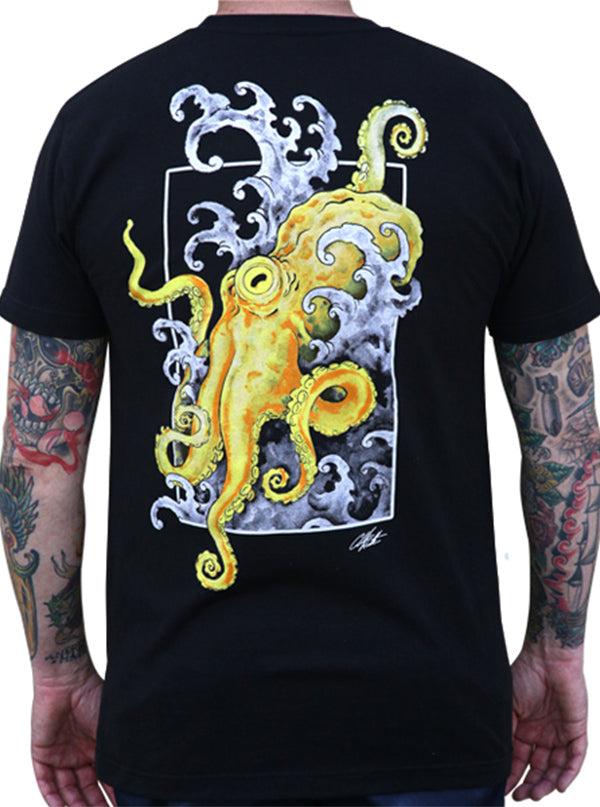 Men's Crawl Tee by Black Market Art