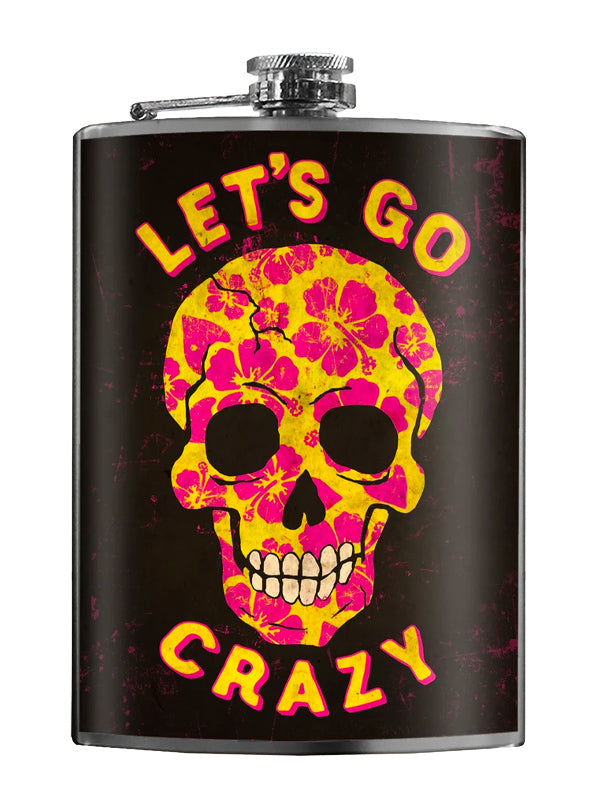 Let's Go Crazy Flask by Trixie & Milo