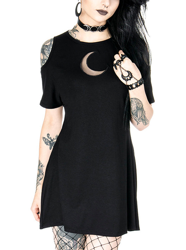 Women's Crescent Cold Shoulder Dress by Restyle