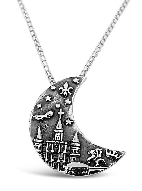 Crescent City Pendant by Cristy Cali