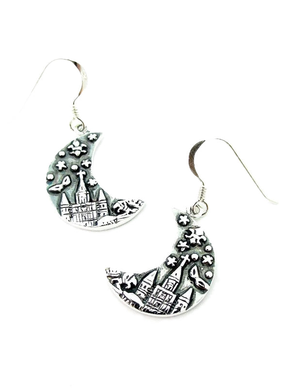 Crescent City Earrings by Cristy Cali