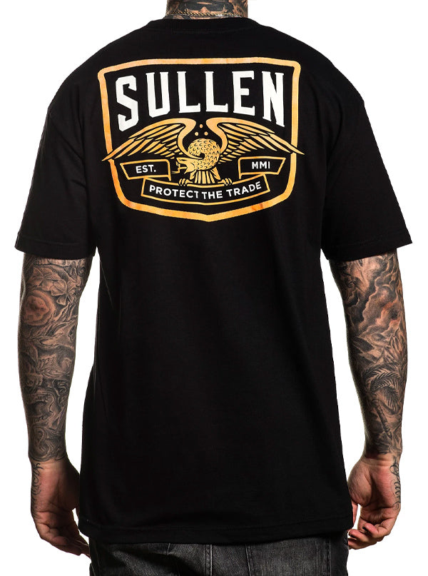 Men's Snake Crest Tee by Sullen