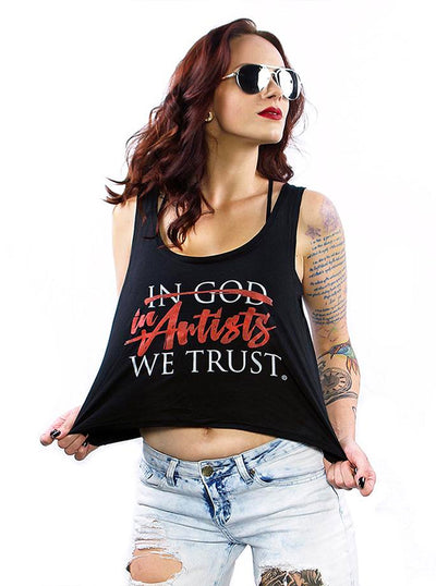 Women's Anti Logo Tank by In Artists We Trust