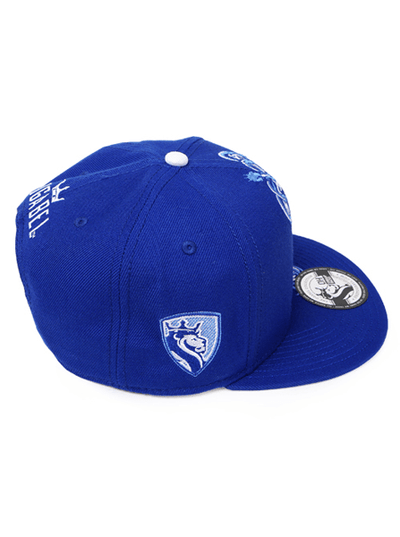 "Men's ""Crown Lion"" Snapback Hat by OG Abel (Royal) - www.inkedshop.com"