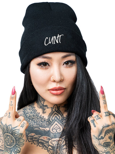 Cunt Beanie by Ktag
