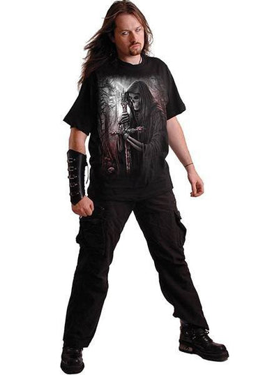 "Men's ""Soul Searcher"" Tee by Spiral USA (Black) - www.inkedshop.com"