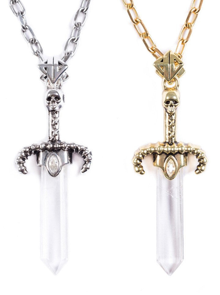 """Dagger of Light"" Pendant by Han Cholo (More Options) - www.inkedshop.com"