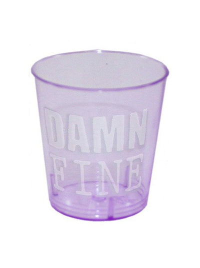 """Damn Fine"" 12 pc Shot Glass Set (Purple) - www.inkedshop.com"