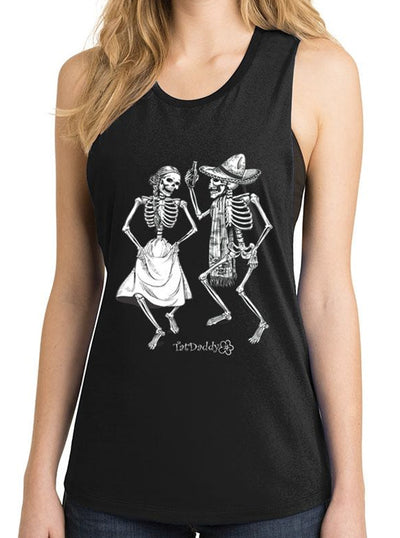 "Women's ""Last Dance"" Tank by Tat Daddy (Black)"