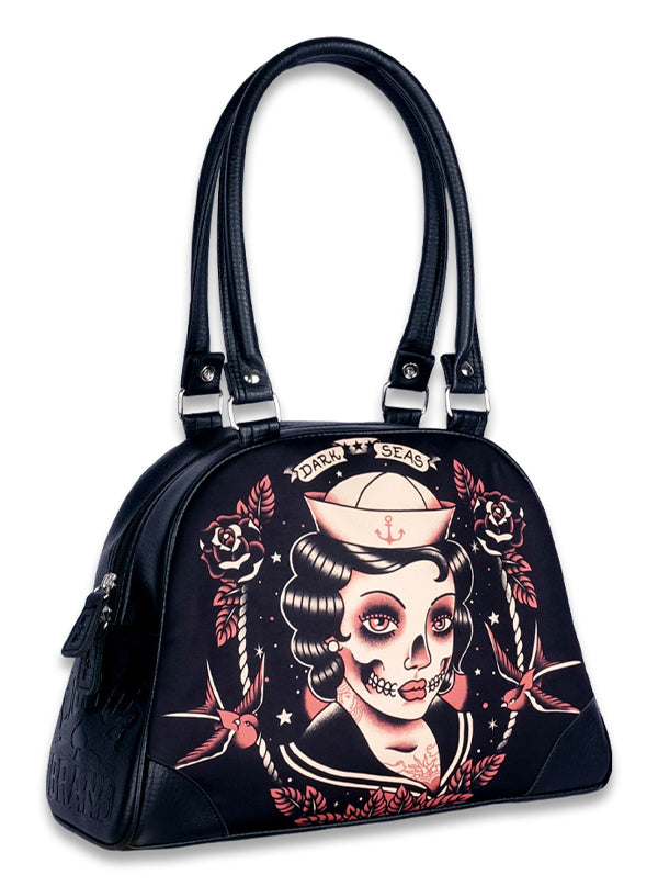 Dark Sea Bowling Bag by Liquorbrand
