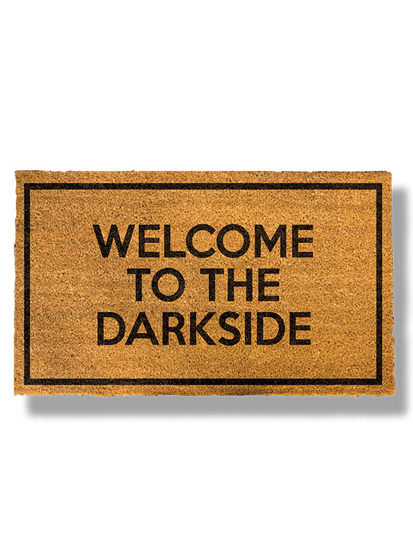 Welcome to the Darkside Doormat by Bison