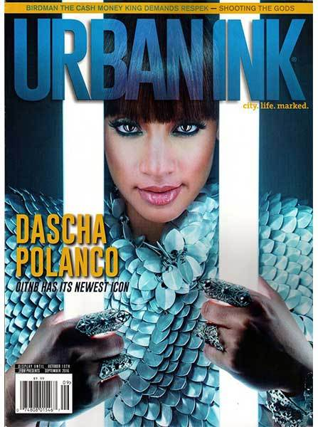 Urban Ink: September 2016-Dascha Polanco
