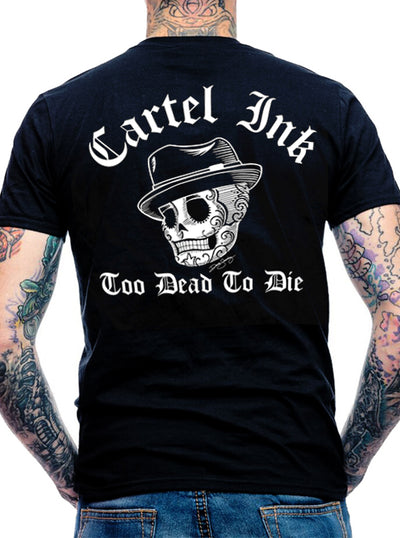 Men's Too Dead To Die Tee by Cartel Ink