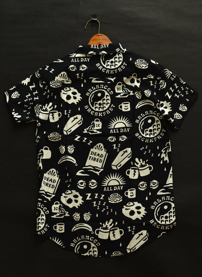 Men's Dead Tired Button-Up Shirt by Pyknic