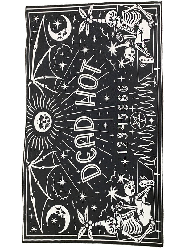 Dead Hot Ouija Beach Towel by Too Fast