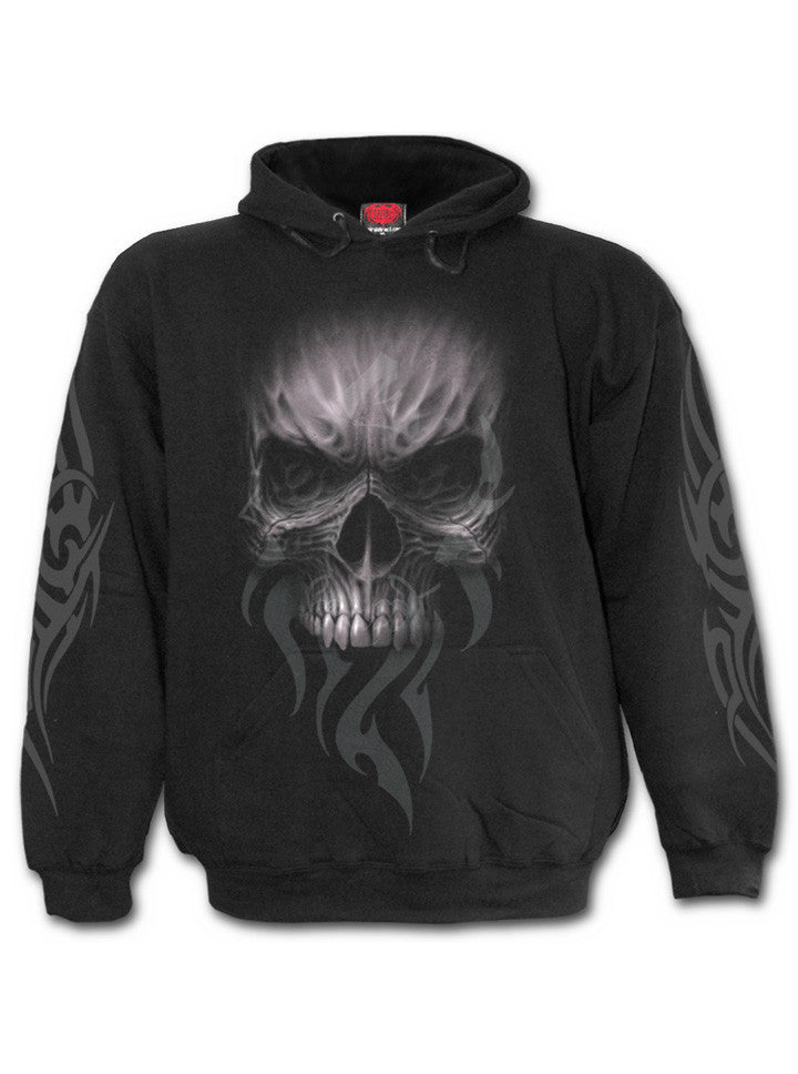 "Men's ""Death Rage"" Hoodie by Spiral USA (Black) - www.inkedshop.com"