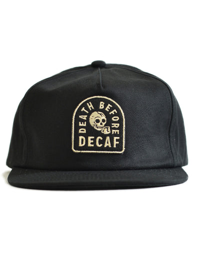 Death Before Decaf Hat by Pyknic
