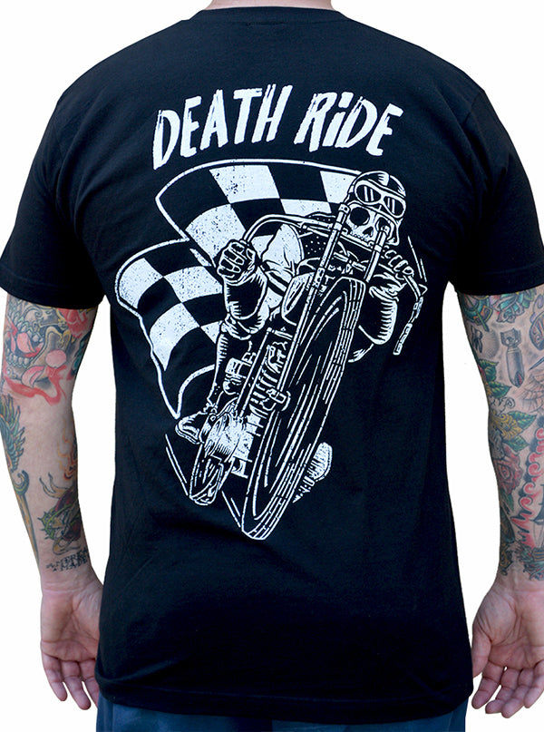 Men's Death Ride Tee by Black Market Art
