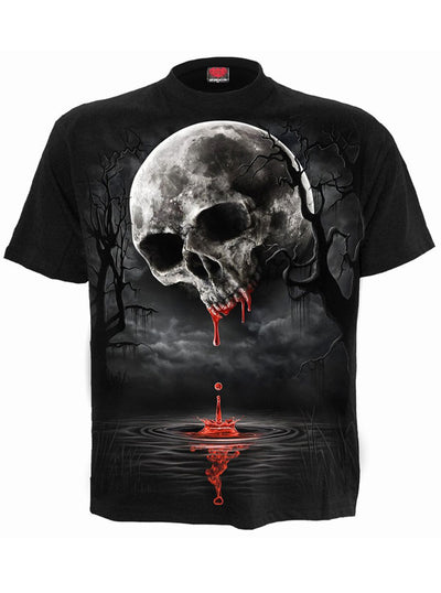 Men's Death Moon Tee by Spiral USA