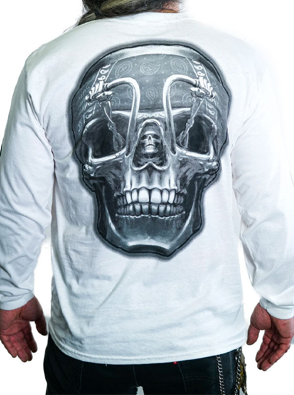 Men's Death Rider Long Sleeve Tee by Lethal Threat