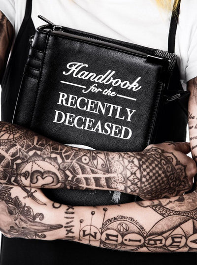Dee Ceased Book Handbag by Killstar
