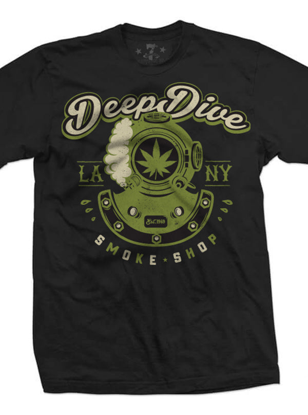 Men's Deep Dive Smoke Shop Tee by 7th Revolution