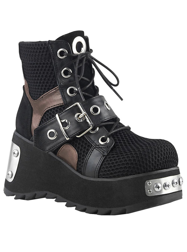 Women's Scene 53 Platform Ankle Boot by Demonia