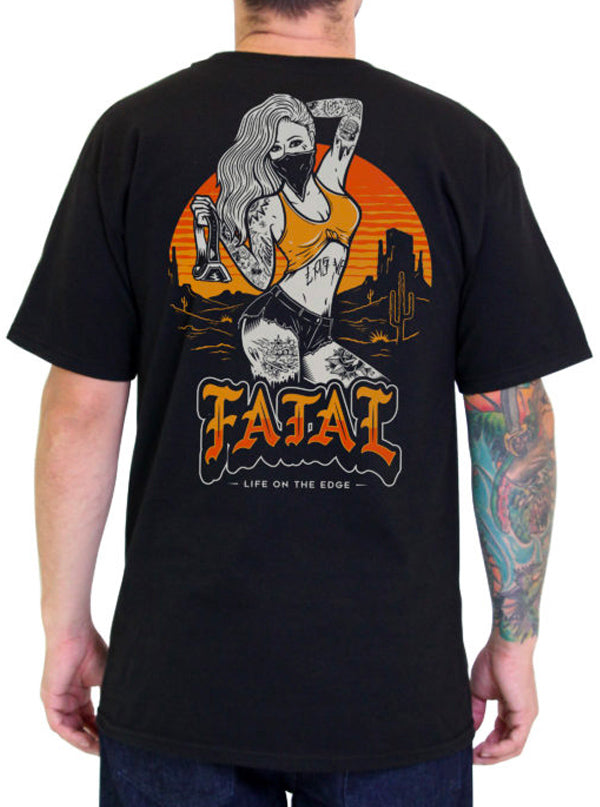 Men's Desert Ripper Tee by Fatal Clothing