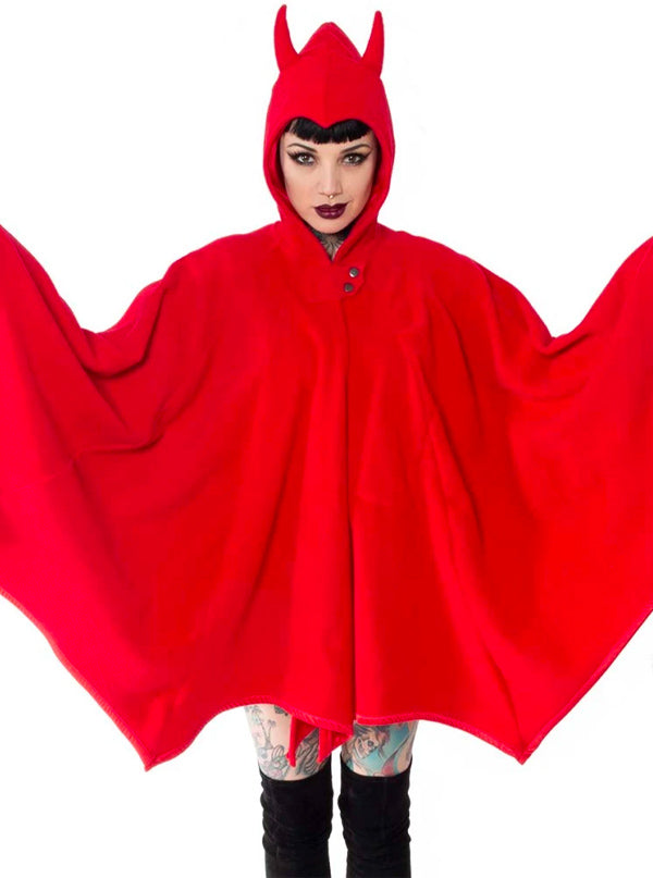 Women's Devil In Disguise Web Cape by Kreepsville 666