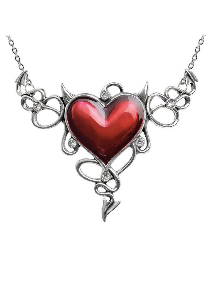 Devil Heart Généreux Necklace by Alchemy of England