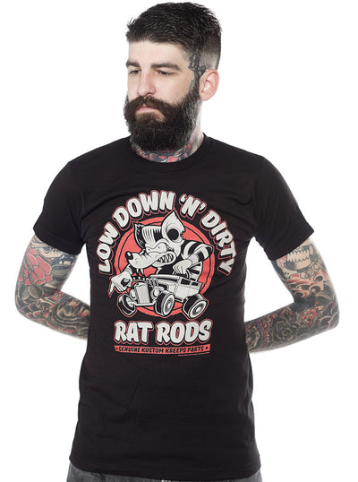 Men's Dirty Rat Tee by Kustom Kreeps