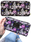 """Disney Villain Print"" Wallet by Loungefly (Black)"