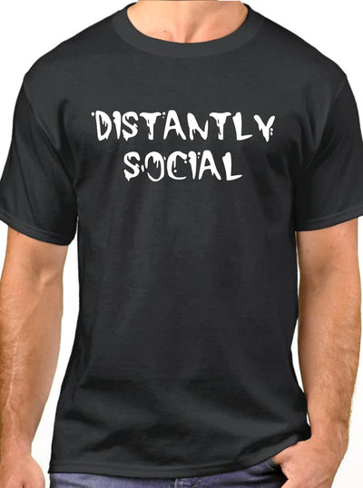 Unisex Distantly Social Collection by 6 Feet Clothing